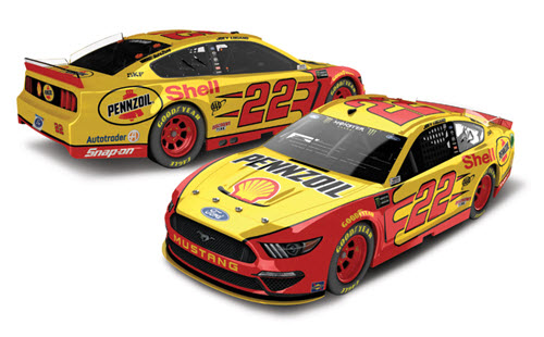 2019 Joey Logano NASCAR Diecast 22 Shell Pennzoil CWC 1:24 Lionel Action ARC Color Chrome 99