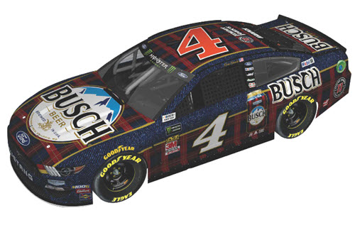 2019 Kevin Harvick NASCAR Diecast 4 Busch Beer Flannel CWC 1:24 Lionel Action ARC 99