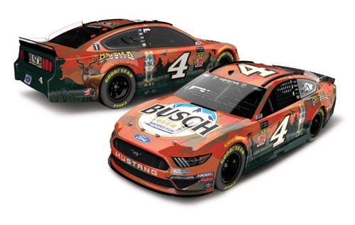 2019 Kevin Harvick NASCAR Diecast 4 Busch Big Buck Hunter CWC 1:24 Lionel Action RCCA Elite 99