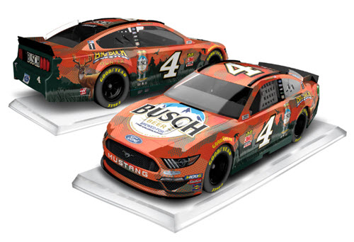 2019 Kevin Harvick NASCAR Diecast 4 Busch Big Buck Hunter CWC 1:64 Lionel Action ARC 99