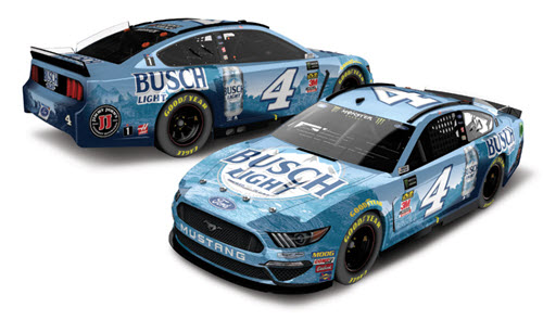 2019 Kevin Harvick NASCAR Diecast 4 Busch Light CWC 1:24 Lionel Action RCCA Elite Color Chrome 99
