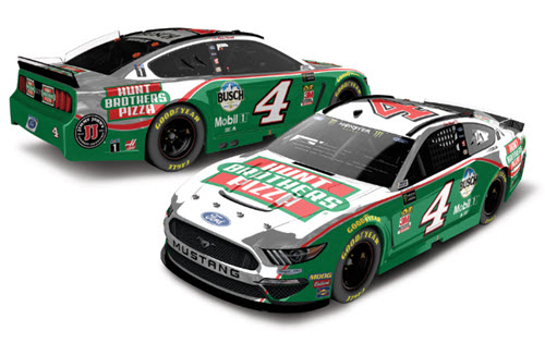 2019 Kevin Harvick NASCAR Diecast 4 Hunt Brothers Pizza CWC 1:24 Lionel Action RCCA Elite Color Chrome 98