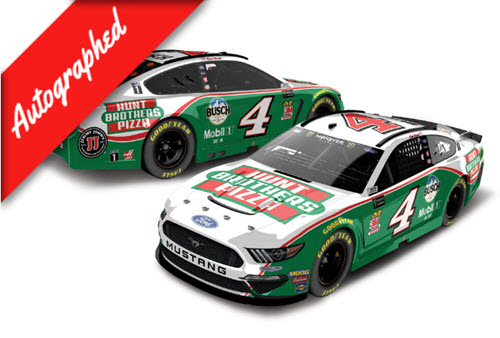 2019 Kevin Harvick NASCAR Diecast 4 Hunt Brothers Pizza CWC 1:24 Lionel Action RCCA Elite Color Chrome Autographed 98