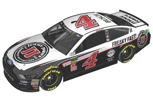2019 Kevin Harvick NASCAR Diecast 4 Jimmy Johns CWC 1:24 Lionel Action ARC Color Chrome 99