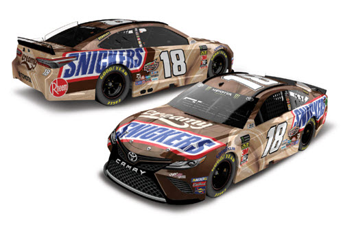 2019 Kyle Busch NASCAR Diecast 18 Creamy Snickers CWC 1:24 Lionel Action RCCA Elite 99