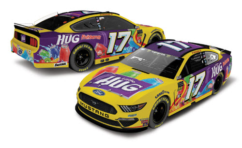 2019 Ricky Stenhouse Jr NASCAR Diecast 17 Little Hug Fruit Barrles CWC 1:24 Lionel Action ARC 99