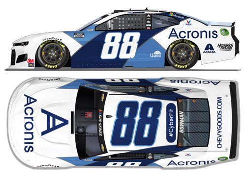2020 Alex Bowman NASCAR Diecast 88 Acronis CWC 1:24 Lionel Action ARC 99