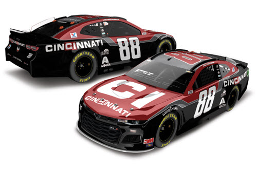2020 Alex Bowman NASCAR Diecast 88 Cincinnati CWC 1:24 Lionel Action ARC Autographed Color Chrome 99