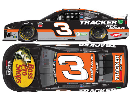 2020 Austin Dillon NASCAR Diecast 3 Bass Pro Tracker Off Road CWC 1:64 Lionel Action ARC 99