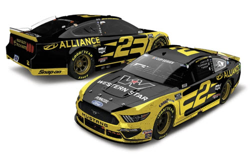 2020 Brad Keselowski NASCAR Diecast 2 Alliance Louden New Hampsire Win Raced Version CWC 1:24 Lionel Action ARC 97
