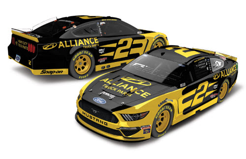 2020 Brad Keselowski NASCAR Diecast 2 Alliance Truck Parts 1:24 Lionel Action RCCA Elite 99