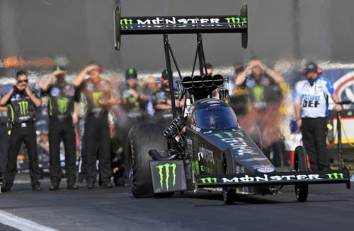 2020 Brittany Force NHRA Diecast Monster Energy Top Fuel Dragster 1:24 Auto World Racing Champions 99