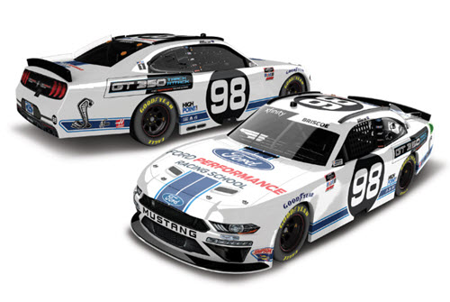 2020 Chase Briscoe NASCAR Diecast 98 Ford Performance Racing School CWC 1:24 Lionel Action ARC Color Chrome 99