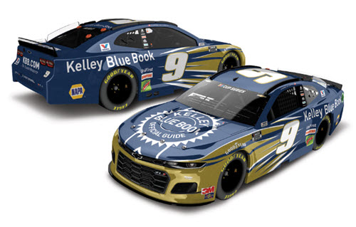 2020 Chase Elliott NASCAR Diecast 9 KBB Kelley Blue Book CWC 1:24 Lionel Action ARC Color Chrome 99
