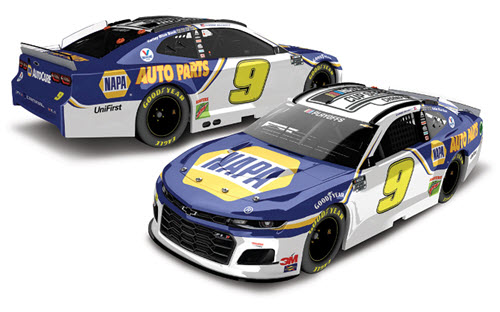2020 Chase Elliott NASCAR Diecast 9 NAPA Cup Series Champion CWC 1:24 Lionel Action ARC Color Chrome 99
