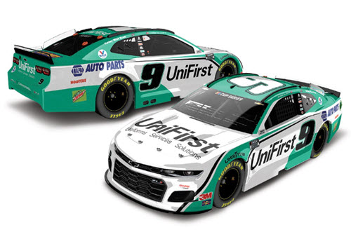 2020 Chase Elliott NASCAR Diecast 9 UniFirst Uni First All Star CWC 1:24 Lionel Action ARC Light Up 98