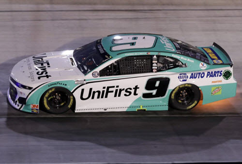 2020 Chase Elliott NASCAR Diecast 9 UniFirst Uni First All Star Win Raced Version CWC 1:24 Lionel Action RCCA Elite Color Chrome 98