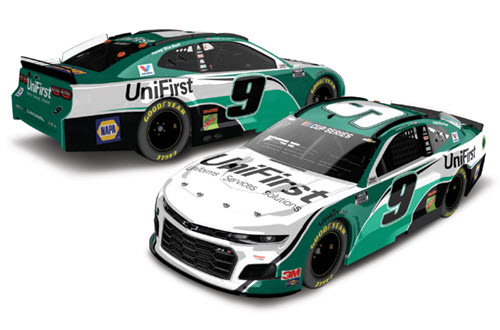 2020 Chase Elliott NASCAR Diecast 9 UniFirst Uni First CWC 1:24 Lionel Action ARC Color Chrome 99