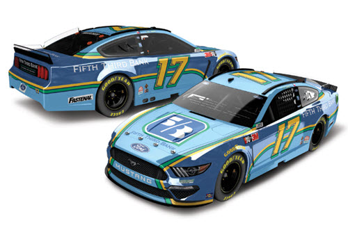 2020 Chris Buescher Diecast 17 Fifth Third Bank 5th 3rd CWC 1:24 Lionel Action ARC Color Chrome 99