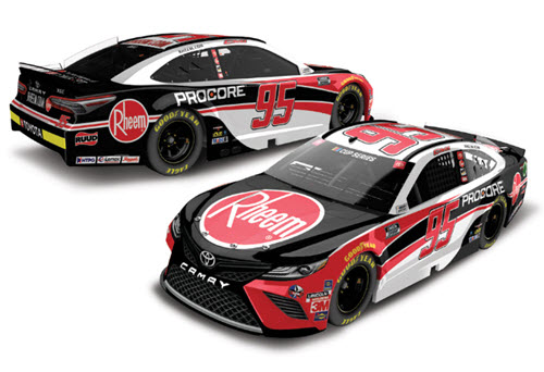 2020 Christopher Bell NASCAR Diecast 95 Rheem CWC 1:24 Lionel Action RCCA Elite Liquid Color 99