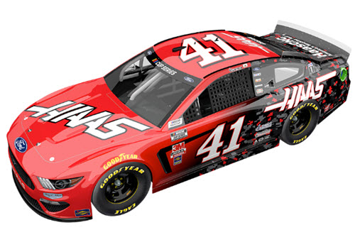 2020 Cole Custer NASCAR Diecast 41 HAAS Automation CWC 1:24 Lionel Action RCCA Elite Color Chrome 99