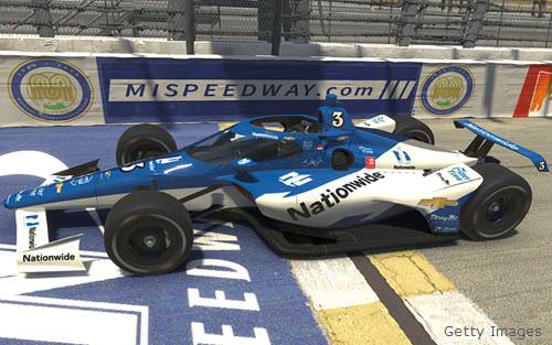2020 Dale Earnhardt Jr NASCAR Diecast 3 Nationwide iRacing Indycar Indy Car 1:64 Greenlight 98