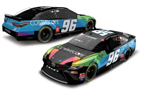 2020 Daniel Suarez NASCAR Diecast 96 Commscope CWC 1:24 Lionel Action ARC Color Chrome 99