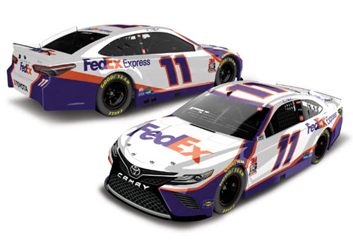 2020 Denny Hamlin NASCAR Diecast 11 FedEx Express CWC 1:24 Lionel Action ARC Color Chrome 99