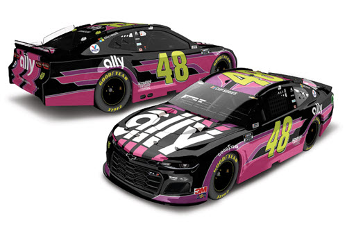 2020 Jimmie Johnson NASCAR Diecast 48 Ally Danny Koker CWC 1:24 Lionel Action RCCA Elite 99