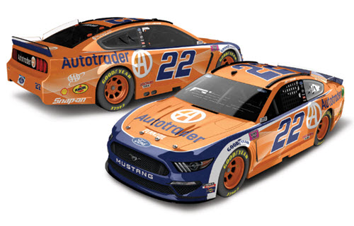2020 Joey Logano NASCAR Diecast 22 Autotrader Auto Trader CWC 1:24 Lionel Action ARC Color Chrome 99