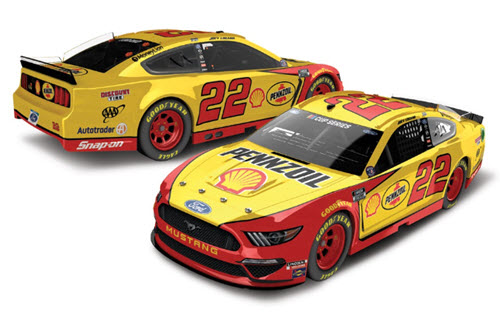 2020 Joey Logano NASCAR Diecast 22 Shell Pennzoil All StarCWC 1:24 Lionel Action ARC Light Up 98