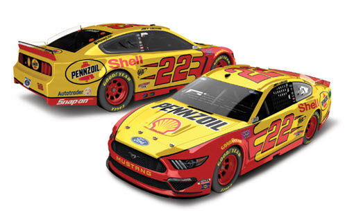 2020 Joey Logano NASCAR Diecast 22 Shell Pennzoil CWC 1:24 Lionel Action RCCA Elite Color Chrome 99