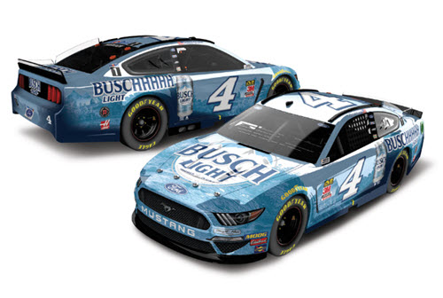 2020 Kevin Harvick NASCAR Diecast 4 Buschhhhh Light CWC 1:24 Lionel Action RCCA Elite Color Chrome 99