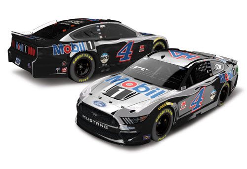 2020 Kevin Harvick NASCAR Diecast 4 Mobil 1 Mobil1 Motor Oil CWC 1:24 Lionel Action RCCA Elite Color Chrome 99