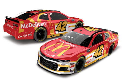 2020 Matt Kenseth NASCAR Diecast 42 McDonalds Delivery 1:24 CWC Lionel Action RCCA Elite Liquid Color 99