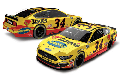 2020 Michael McDowell NASCAR Diecast 34 Loves Speedco 1:24 CWC Lionel Action ARC Color Chrome 99