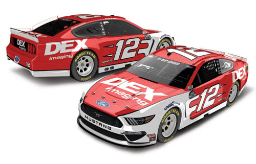 2020 Ryan Blaney NASCAR Diecast 12 DEX Imaging CWC 1:24 Lionel Action ARC Color Chrome 98