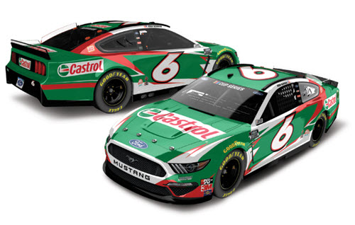 2020 Ryan Newman NASCAR Diecast 6 Castrol CWC 1:24 Lionel Action RCCA Elite 99