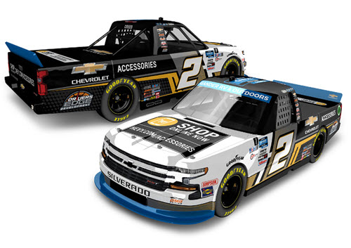 2020 Sheldon Creed NASCAR Diecast 2 Chevy Accessories 1X Champion Truck 1:24 Lionel Action ARC Color Chrome Autographed 99