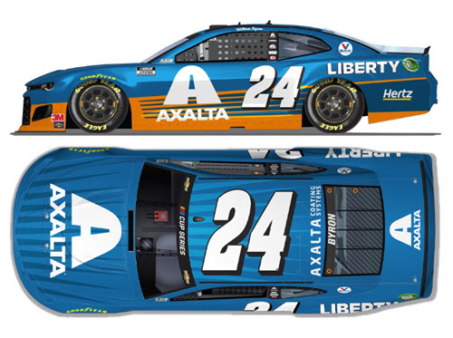2020 William Byron NASCAR Diecast 24 Axalta All Star CWC 1:24 Lionel Action ARC 99