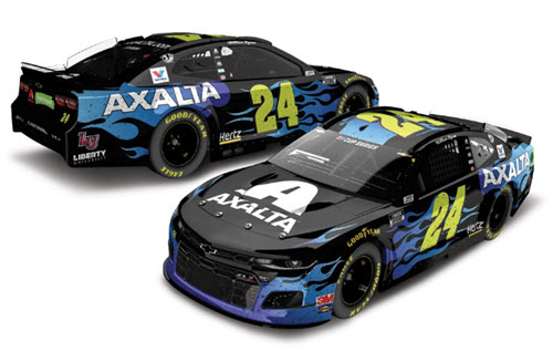 2020 William Byron NASCAR Diecast 24 Axalta Bristol iRacing Virtual Raced Version CWC 1:24 Lionel Action ARC Color Chrome 98