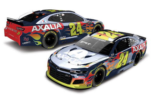 2020 William Byron NASCAR Diecast 24 Axalta CWC 1:24 Lionel Action ARC Color Chrome 98