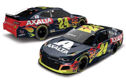 2020 William Byron NASCAR Diecast 24 Axalta CWC 1:24 Lionel Action ARC Color Chrome 99