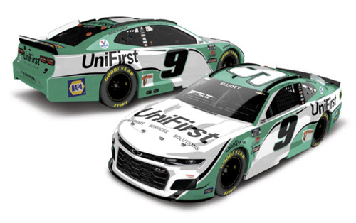 2021 Chase Elliott NASCAR Diecast 9 UniFirst CWC 1:24 Lionel Action RCCA Elite Liquid Color 99