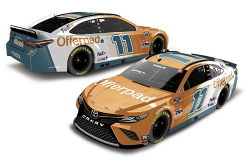 2021 Denny Hamlin NASCAR Diecast 11 Offerpad CWC 1:24 Lionel Action RCCA Elite 99