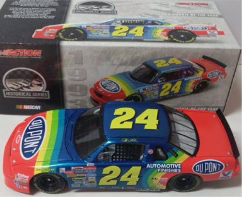 24 Jeff Gordon Diecast 1993 DuPont ROTY Rookie of the Year CWC 1:24 ARC 1