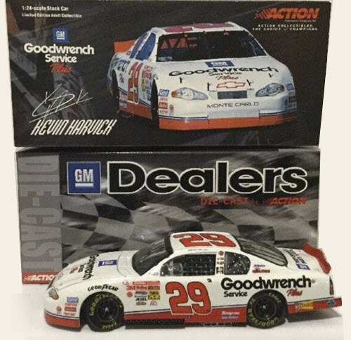 29 Kevin Harvick Diecast 2001 GMGW GM Goodwrench CWC 1:24 Action ARC GM Dealers 1