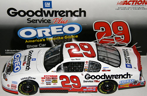 29 Kevin Harvick Diecast 2001 GMGW GM Goodwrench Oero Show Car CWC 1:24 Action ARC 1