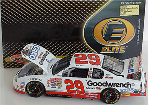 29 Kevin Harvick Diecast 2001 GMGW GM Goodwrench Oero Show Car CWC 1:24 Action RCCA Elite 1