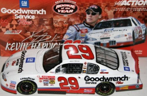 29 Kevin Harvick Diecast 2001 GMGW GM Goodwrench ROTY ROY Rookie of the Year CWC 1:24 Action ARC 1